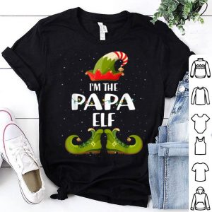 Premium I'm The Papa Elf Matching Christmas Family shirt
