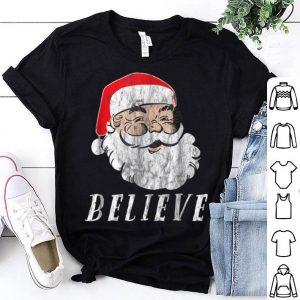 Pretty Believe in Santa Christmas shirt