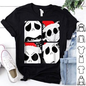 Pretty Disney Nightmare Before Christmas Jack Faces shirt