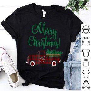 Top Buffalo Plaid Vintage Pickup Truck Christmas shirt