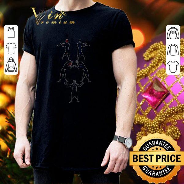 Top Darth Maul and Samurai Fusion Night King shirt