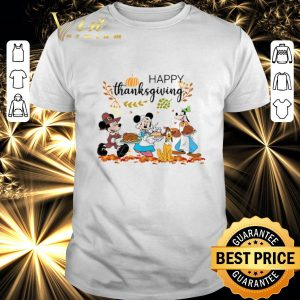 Top Disney Characters Happy Thanksgiving shirt