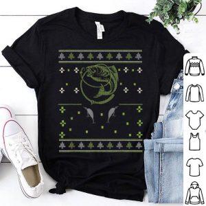Top FISHING Ugly Christmas Apparel Bass Fish lover Gift shirt