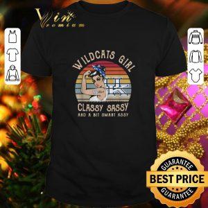 Top Kentucky Wildcats UK girl classy sassy and a bit smart assy vintage shirt