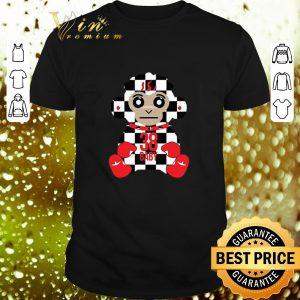 Top Never Broke Again 38 Baby Monkey Checkers shirt