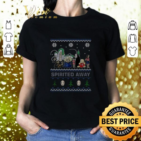 Top Spirited Away ugly Christmas shirt