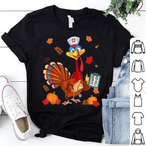 Top Thanksgiving Nurse Turkey Cute Family Gift Men Women Funny shirt