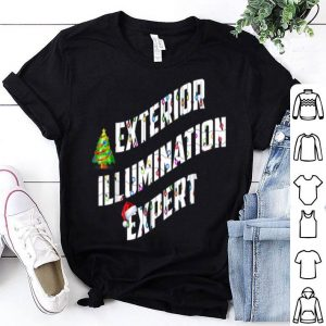 Awesome Exterior Illumination Expert Xmas Christmas Holidays Tee sweater