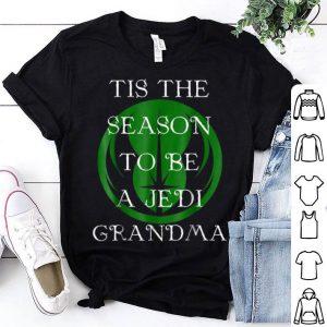 Beautiful Star Wars Season To Be A Jedi Grandma Christmas sweater