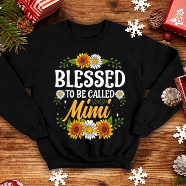 Blessed To Be Called Mimi Shirt Christmas Thanksgiving sweater