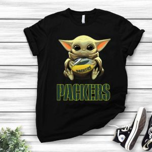Football Baby Yoda And Green Bay Packers shirt
