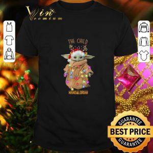 Hot Baby Yoda the child the Mandalorian Star Wars Christmas shirt