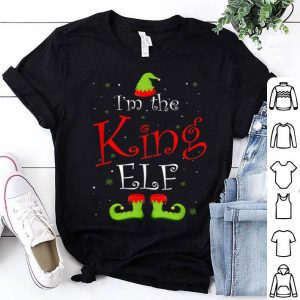 Nice I'm The King Elf Matching Family Group Christmas Funny Xmas sweater