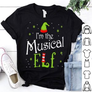 Nice I'm The Musical Elf Funny Group Matching Family Xmas Gift sweater