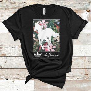 Official Adidas Deftones Horse Floral shirt