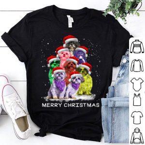 Official Cute Shih Tzu Merry Christmas Tee For Men Woman Kids Gift sweater