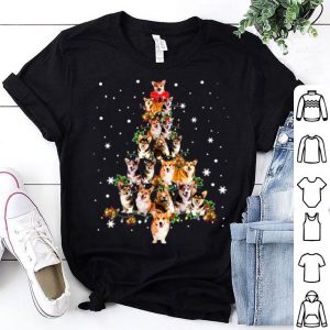 Official Dogs Lovers Ugly Christmas Corgi Xmas Tree Gift sweater