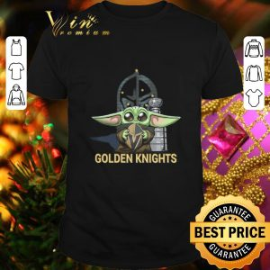 Original Baby Yoda hug Vegas Golden Knights Star Wars Mandalorian shirt