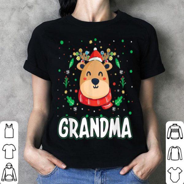 Original Cute Grandma Reindeer Santa Ugly Christmas Family Matching sweater