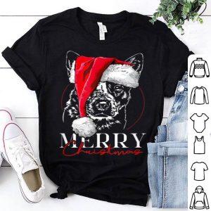 Original Funny Santa Cattle Dog Heeler Merry Christmas dog mom gift sweater