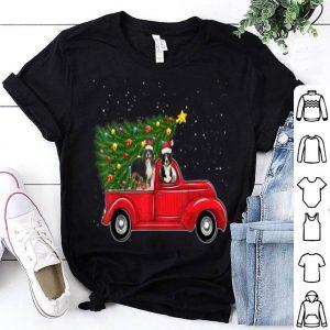 Premium Bernese Mountain Dog Christmas On Red Car Truck Xmas Tree sweater