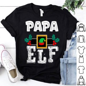 Premium PAPA - ELF Heart Christmas Matching Family Ugly Gift sweater