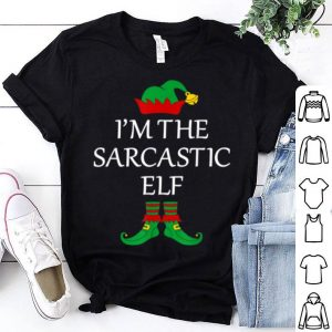 Pretty Funny Family I'm The Sarcastic Elf Christmas Gift sweater
