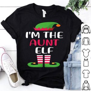 Pretty I'm The Aunt Elf Matching Family Group Christmas sweater
