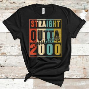 Pretty Straight Outta January 2000 Retro shirt