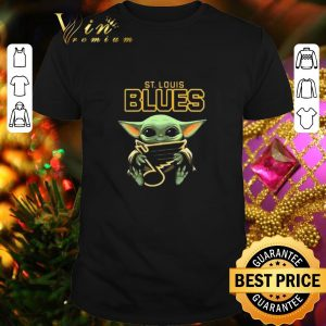 Top Baby Yoda Hug St Louis Blues Star Wars shirt