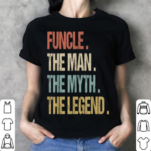 Top Funcle The Man Myth Legend Best Uncle Christmas Gift sweater