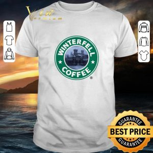 Top Game Of Thrones Winterfell Starbucks coffee shirt