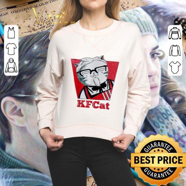 Top KFCat Kentucky KFC Fried Cat shirt