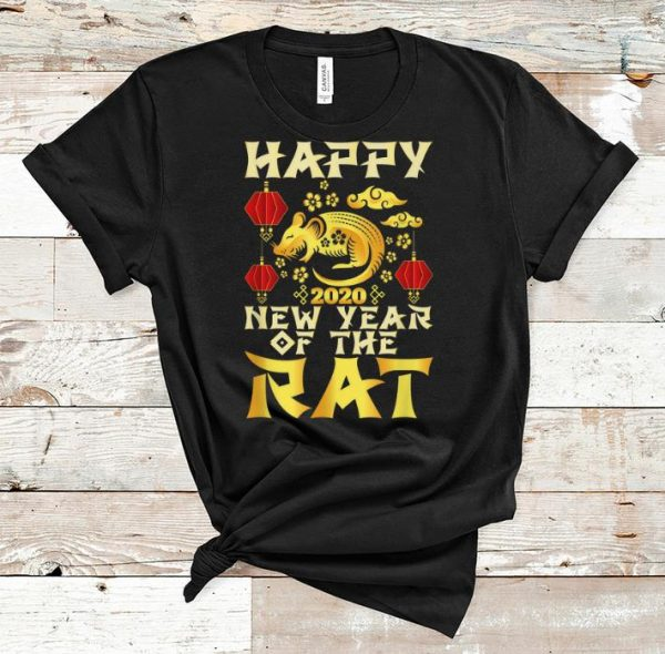 Great Happy New Year Of The Rat 2020 Chinese New Year shirt