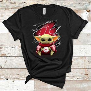 Great Star Wars Baby Yoda Blood Inside Boston Red Sox shirt