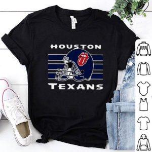 The Rolling Stones Logo Houston Texans shirt