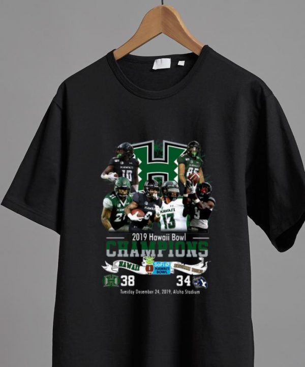 Top 2019 Hawaii Bowl Champions Brigham Young shirt