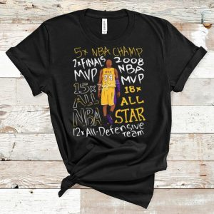Awesome Kobe Bryant Title Collection 12 All-Defensive Team shirt
