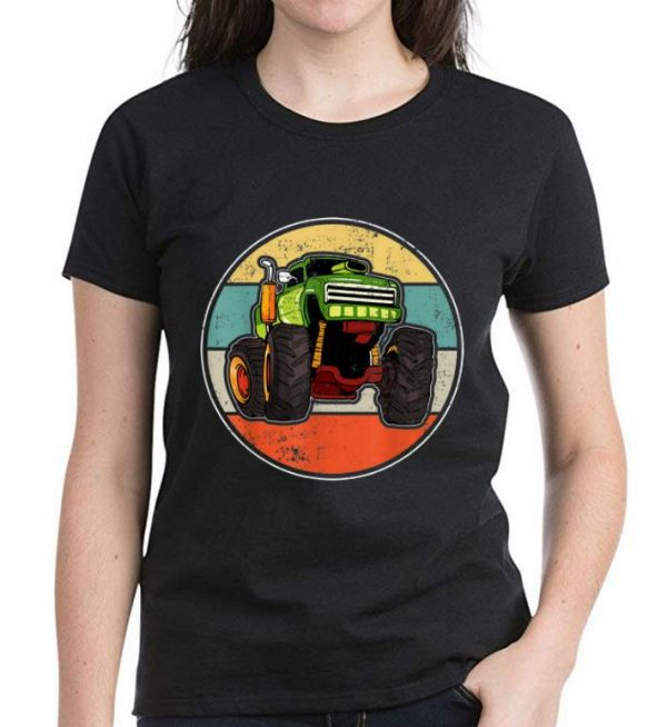 Awesome Monster Truck Vintage shirt