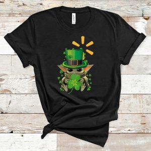 Awesome Star Wars Baby Yoda Walmart Shamrock St. Patrick's Day shirt
