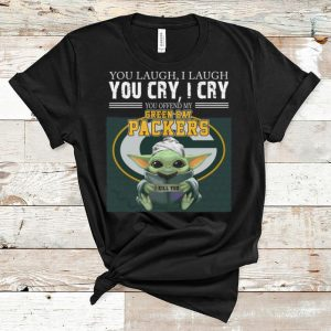 Hot Baby Yoda You Offend My Green Bay Packers I Kill You shirt