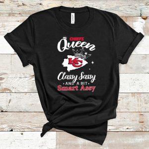 Official Chiefs Queen classy Sassy and a bit smart assy Kansas City Chiefs shirt