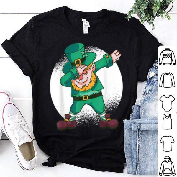 Premium Dabbing Leprechaun In Irish Outfit I Funny St Patricks Day shirt