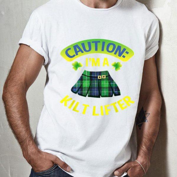 Pretty St Patricks Day Gifts For Men Women Kilt Lifter shirt