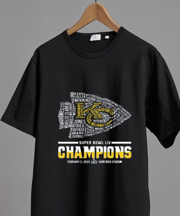 Top Kansas City Chiefs Logo Super Bowl Liv Champions shirt