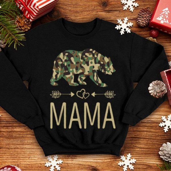 Awesome Mama Bear Camo Mother's Day Gift shirt
