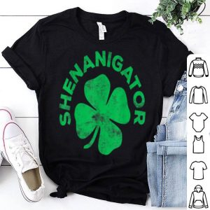Awesome Shenanigator Saint Patrick Day Gift shirt