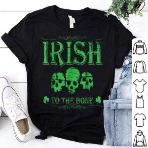 Beautiful Distressed Cool Irish Skull St Patricks St Patty's Day shirt