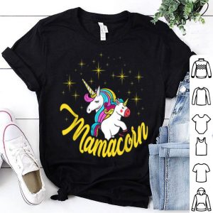 Beautiful Mamacorn Unicorn Mama Mother's Day Women Gift shirt