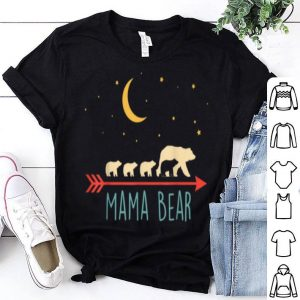 Nice Mama Bear With 4 Cubs Blessed Mama Bear shirt